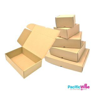Cardboard Box/Artzone Cardboard Brown Gift Box/Kotak Keras/Craft Box/Packing Product