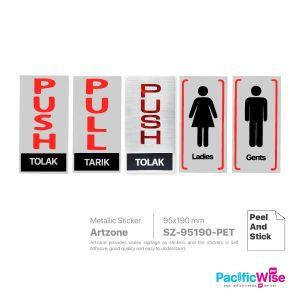 Artzone Sign Sticker SZ95190