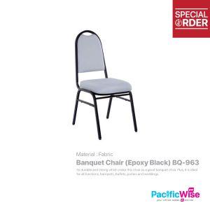 Banquet Chair (Epoxy Black)/Kerusi Jamuan/BQ-963