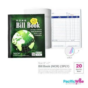 Bill Book 6 x 7 (NCR) (3PLY x 20set)