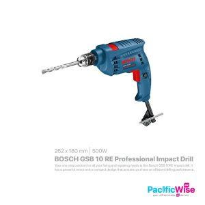 BOSCH GSB 10 RE Professional Impact Drill (500W)