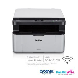 Brother Wireless Multi-Function Monochrome Laser Printer DCP-1610W