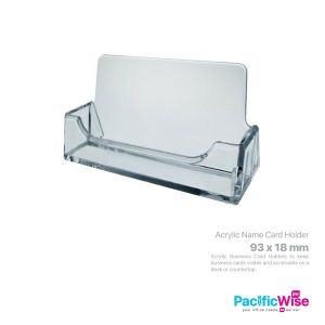 Acrylic Business Card Holder Display Stand/Papan Paparan Pemegang Kad Perniagaan Akrilik/Holder Filing/BC93