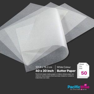"""Butter Paper 30"""" x 40"""" (50'S)"""