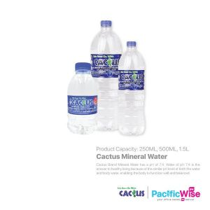 Cactus Mineral Water