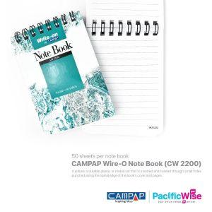 CAMPAP Wire-O Note Book (CW 2200)