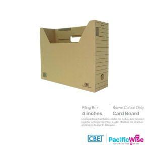 CBE File Box Card Board (Brown)