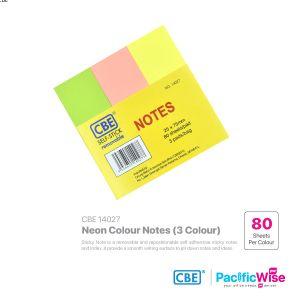 CBE Removable Sticky Note 14027 (3 Neon Colour)