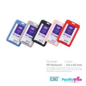 CBE Card Holder Flip Design with Frosted Surface