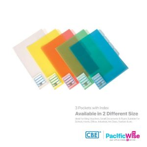 CBE L Shape Folder 3 Pocket with Index