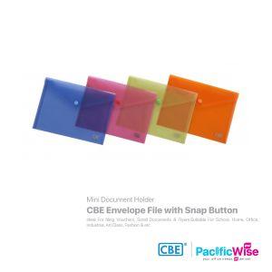 CBE Envelope File with Snap Button Mini Size (Landscape)