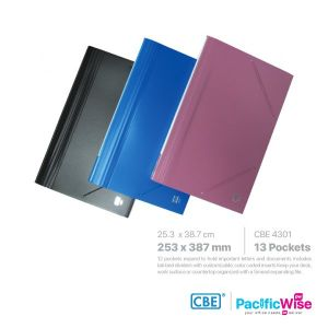 CBE Expanding File Elastic Band F4 Size 4301