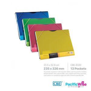 CBE Expanding File Slim Space Series 4320