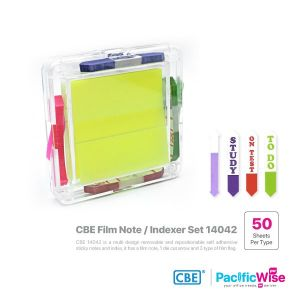 CBE Removable Sticky Notes & Flag 14042 (Multi Design)
