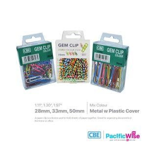 CBE Colour Gem Clip