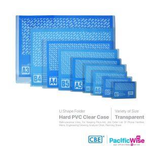 CBE/Clear Holder Hard PVC/Pemegang Jelas PVC Keras/Holder Filing