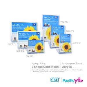 CBE L Shape Card Stand