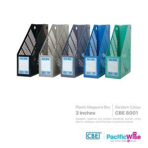 CBE Magazine Box Plastic
