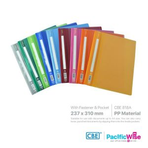 CBE Management File With Pocket PP