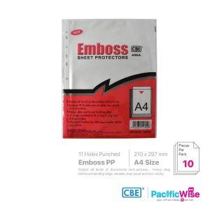 CBE Sheet Protector Emboss 406A