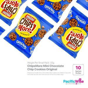 ChipsMore Mini Chocolate Chip Cookies Original (32g x 10sachet)