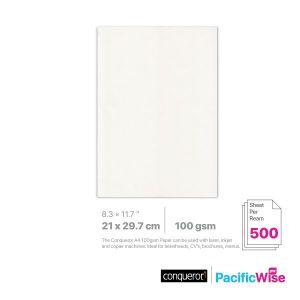 Conqueror/Wove Paper/Kertas Wove 100gsm/Material Paper/A4 (500'S)