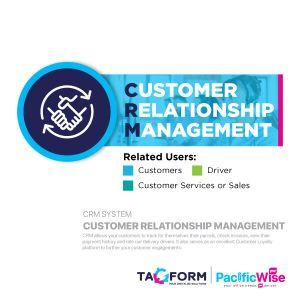 Tagform Customer Relationship Management - CRM System