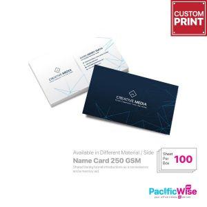 Customized Digital Printing Name Card (250GSM Art Card+Matt)