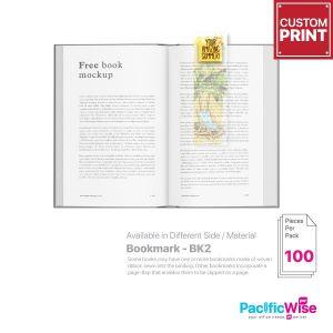 Customized Printing Bookmark (BK2)