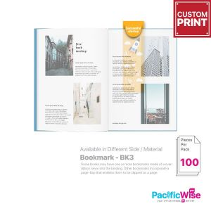 Customized Printing Bookmark (BK3)