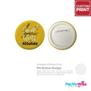 Customized Printing Button Badge (Pin)