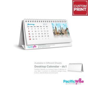 Customized Printing Mini Desktop Calendar (DC1 Soft Stand)
