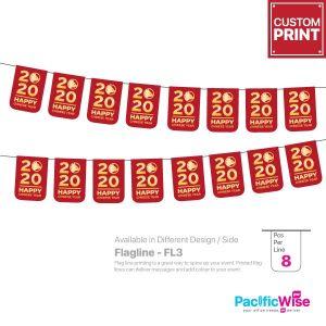 Customized Printing Flagline (FL3)