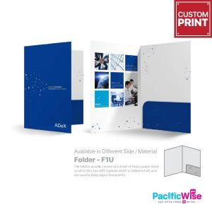 Customized Printing Folder (F1U)