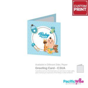 Customized Printing Greeting Card (C3UA)