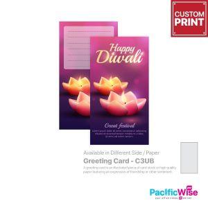 Customized Printing Greeting Card (C3UB)