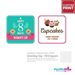 Customized Printing Greeting Tag (TG5-Square)