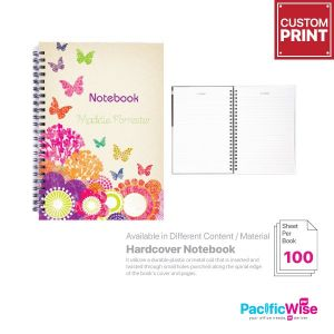 Customized Printing Hardcover Notebook (100s)