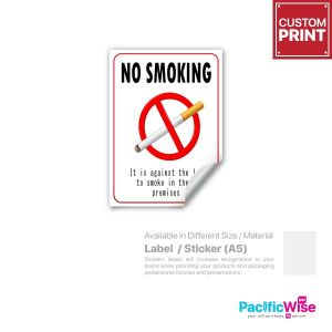 Customized Printing Sticker/Label (A5)
