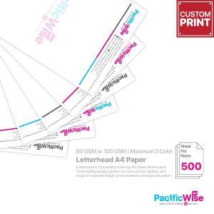Customized Printing Letterhead A4