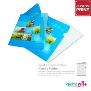 Customized Printing Plastic Folder