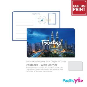 Customized Printing Postcard (With Corner)