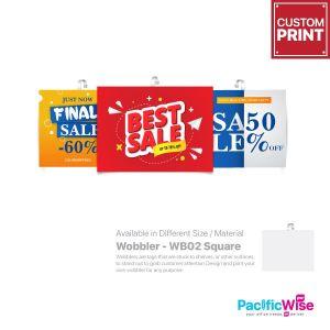 Customized Printing Wobbler (WB02)
