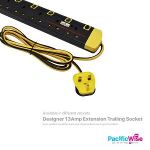 Designer 13Amp Extension Trailing Socket