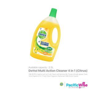 Dettol 4 in 1 Disinfectant Multi Action Cleaner (Citrus)