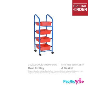 Dexi Trolley 4 Tray