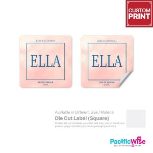 Customized Printing Die Cut Label (Square)