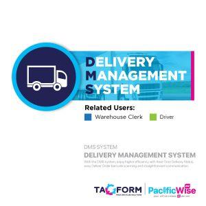 Tagform Delivery Management - DMS System