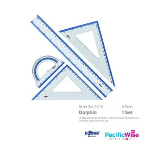 Dolphin Ruler Set Beready 2216