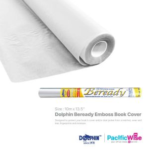 Dolphin Beready Emboss Book Cover (10m x 13.5)